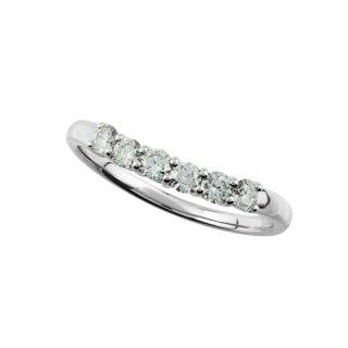 SSアミアージュ シンセティックダイヤモンドリング 計0.3ctUP