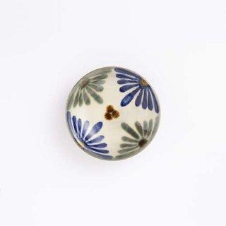 やちむん 育陶園 3.5寸皿(菊紋)