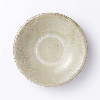やちむん 菅原窯 6寸皿(無地魚紋)