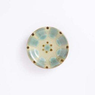 やちむん ノモ陶器製作所 小皿(緑釉)