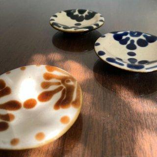 やちむん ノモ陶器製作所 小皿(コバルト)