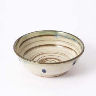 やちむん ノモ陶器製作所 5寸鉢(刷毛目)