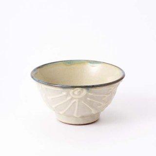 やちむん ノモ陶器製作所 4寸マカイ(イッチン)
