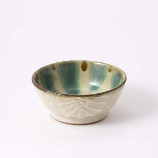 やちむん ノモ陶器製作所 4寸鉢(花大)