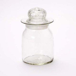 琉球ガラス 奥原硝子 1斤瓶(クリア)