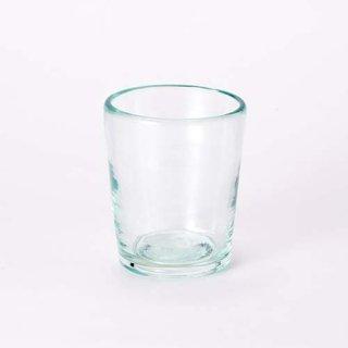 琉球ガラス 奥原硝子 3半コップ(ライトラムネ)