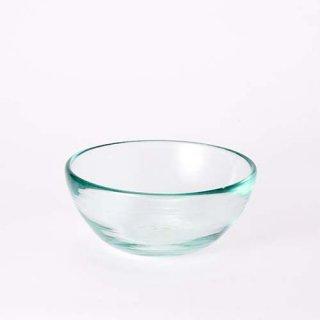 琉球ガラス 奥原硝子 11.5cmボウル(ライトラムネ)