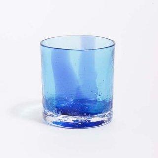 琉球ガラス GlassArt青い風 はまういグラス(青)