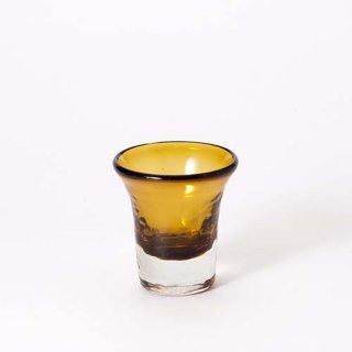琉球ガラス ガラス工房清天 チョコ丸(ブラウン)