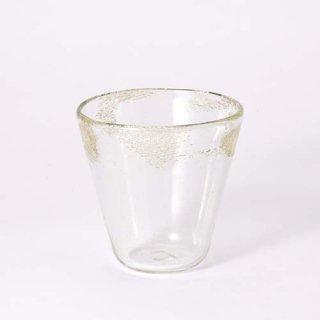 琉球ガラス 工房彩砂 泡巻コーングラス