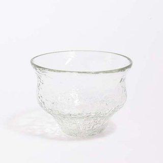 琉球ガラス 工房彩砂 ボウルグラス アイスカット