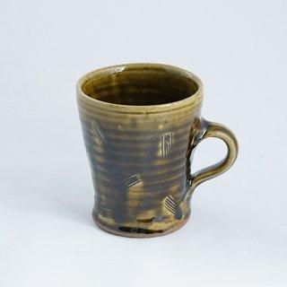 常滑焼 リチャード&ミエコポタリー マグカップ