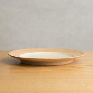 やちむん アカマシバル製陶所 ふちどり大皿 (灯り)
