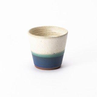 丹波焼 大雅工房 フリーカップ(3色青)