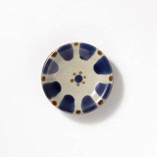 やちむん ノモ陶器製作所 小皿(コバルト チチチャン)