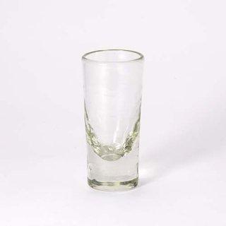 琉球ガラス ガラス工房清天 一口ビアグラス クリア