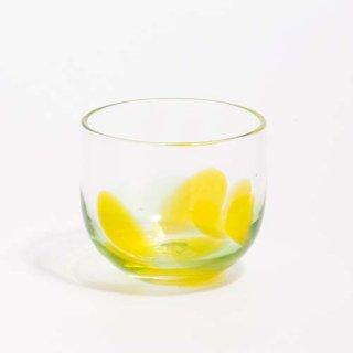 琉球ガラス GlassArt青い風 島じかん グラス シークヮーサー