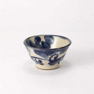 やちむん ノモ陶器製作所 3.5寸マカイ(巻唐草)