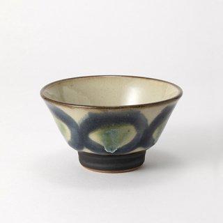 やちむん ノモ陶器製作所 マカイ4寸(呉須)
