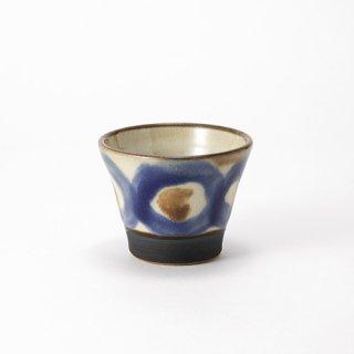 やちむん ノモ陶器製作所 そばちょこ(コバルト)