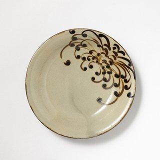 やちむん 山城窯 7寸皿(菊紋)