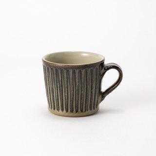 やちむん 工房o-gusuya アメ釉しのぎマグカップ