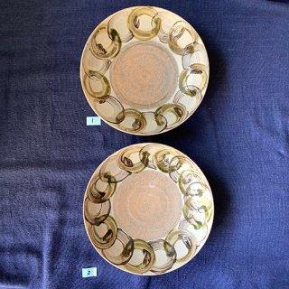 やちむん アカマシバル製陶所 クープ皿(和つなぎ)
