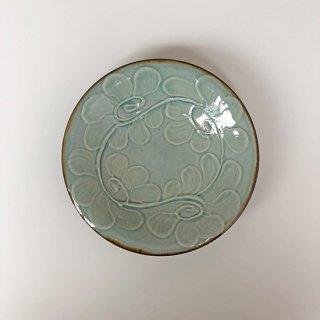 やちむん 仲間陶房 5寸皿(うふどー)