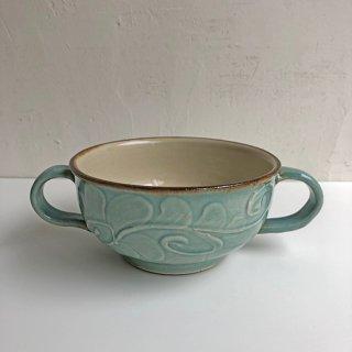 やちむん 仲間陶房 スープカップ(うふどー)