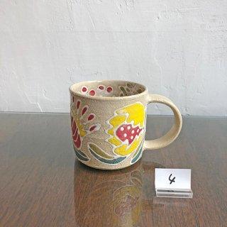 Kimie 彩色イッチン マグカップ-4