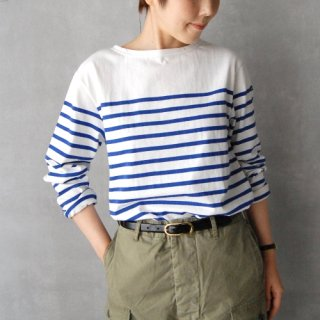 Le minor<br>パネルボーダーカットソー / size 3