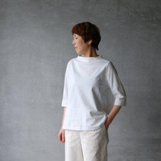 nisica<br>ガンジーカットソー(6分袖)
