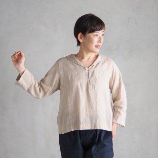 <img class='new_mark_img1' src='https://img.shop-pro.jp/img/new/icons27.gif' style='border:none;display:inline;margin:0px;padding:0px;width:auto;' />nisica × Daja<br>リネンセーラーシャツ<br> 〈shirt summer house〉(ベージュ・ブラウン)