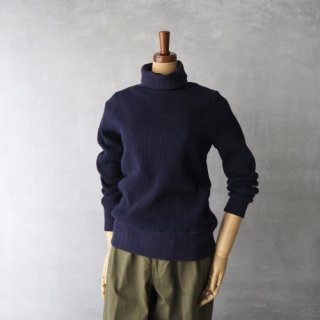 Nigel Cabourn WOMAN<br>タートルネックワッフルカットソー<br>〈TURTLE NECK BIG WAFFLE〉