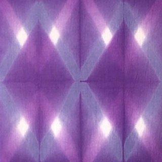 藤井絞り 紫たすき掛け