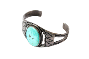 <img class='new_mark_img1' src='//img.shop-pro.jp/img/new/icons5.gif' style='border:none;display:inline;margin:0px;padding:0px;width:auto;' />Fred・Harvey Style Turquoise Bracelet (VIJ13)