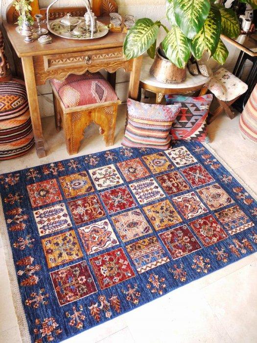 新しい絨毯 シルヴァン  約154×107