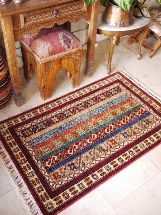 新しい絨毯 シャルデザイン  約124×78