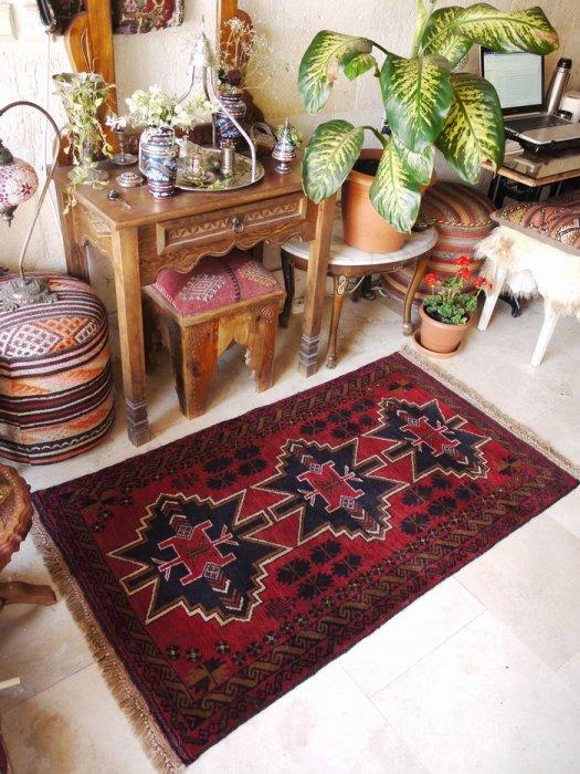 新しい絨毯バルーチ  約144×84