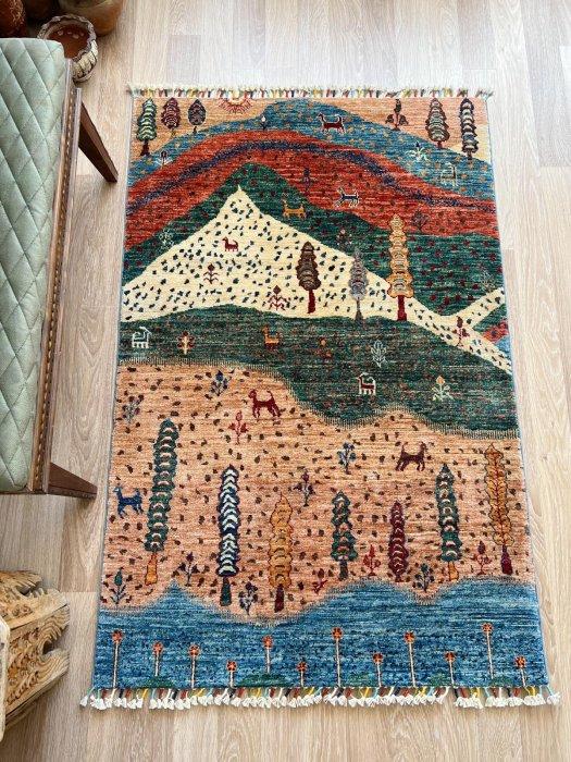 新しい絨毯 風景 約157×104