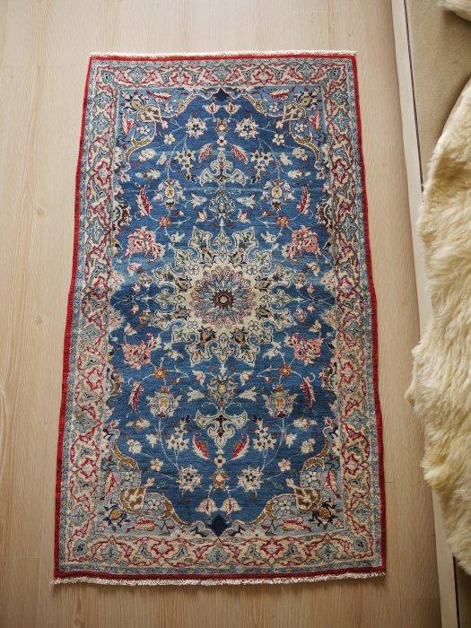 オールド ペルシャ絨毯 イスファハン 約127×73