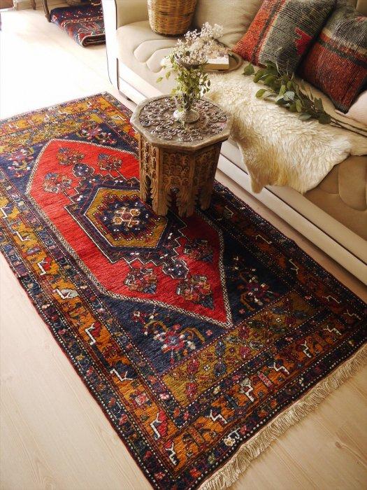 オールド絨毯 カイセリヤヒヤル 約210×107