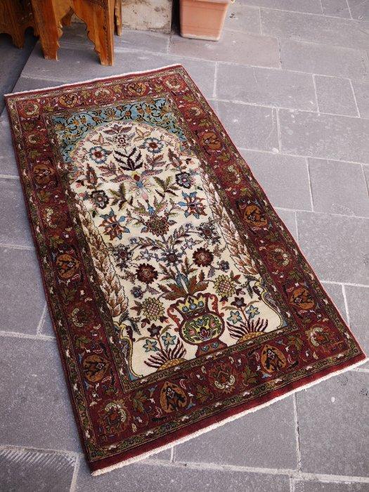 ペルシャ絨毯 イスファハン ヴィンテージ  約159×89