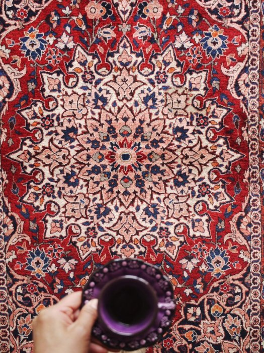 ペルシャン ヴィンテージラグ バクティアリ 約212×136