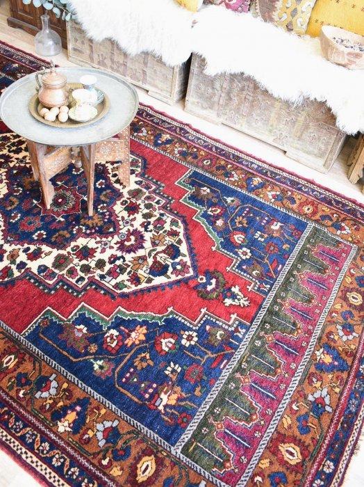 古き良きトルコ絨毯 タシュプナル 約273×161