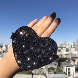 【Paw Palette】Luv Paw Palette [Midnight Gold Glitter]|【パウパレット】 ハート型パレット(ミッドナイトゴールドグリッター)