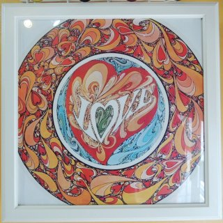 〜1970's LOVE psychedelic poster