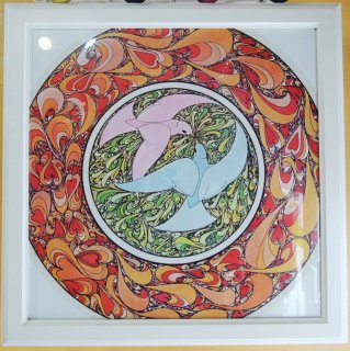 <img class='new_mark_img1' src='https://img.shop-pro.jp/img/new/icons44.gif' style='border:none;display:inline;margin:0px;padding:0px;width:auto;' />〜1970's PEACE / DOVE psychedelic poster