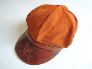 <img class='new_mark_img1' src='https://img.shop-pro.jp/img/new/icons44.gif' style='border:none;display:inline;margin:0px;padding:0px;width:auto;' />1970's Leather 2-tone HAT