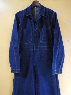 <img class='new_mark_img1' src='https://img.shop-pro.jp/img/new/icons44.gif' style='border:none;display:inline;margin:0px;padding:0px;width:auto;' />1950's CAN'T BUST'EM Denim Coveralls Deadstock